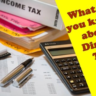 What is a Direct Tax?
